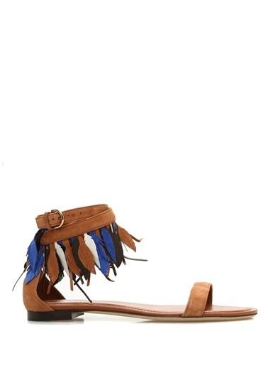 Tod's Sandalet Kiremit